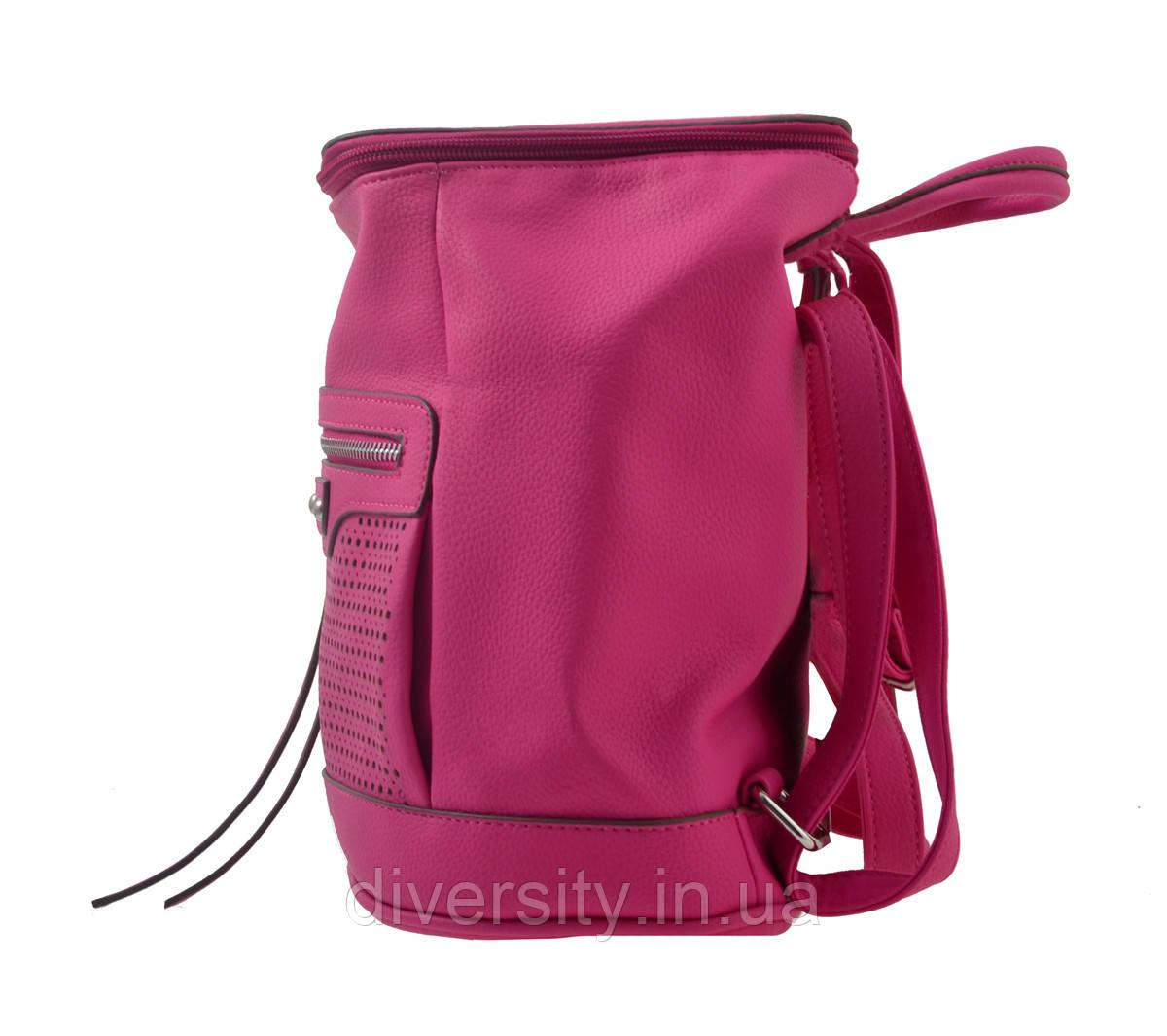 Сумка-рюкзак  YES,  розовый,  26*14*27см