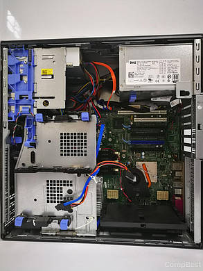 Dell WS T5500 Tower / Intel Xeon X5650 (6(12)ядер по 2.66 - 3.06GHz) / 48GB DDR3 / New! 480GB SSD / БП 875W / GeForce GTX 1070 8Gb GDDR5 256bit /, фото 2