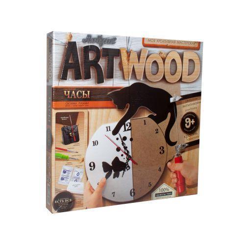 """Набор для выпиливания """"ARTWOOD: Часы своими руками"""" LBZ-01-02"""