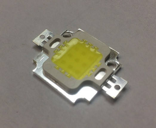 Светодиод матричный СОВ для прожектора 10W 5000К 300мА (45Х45 mil) Код.59650, фото 2