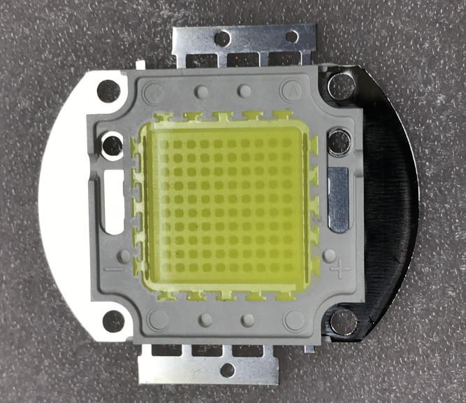Светодиод матричный PREMIUM для прожектора 100W 5000К (45Х45 mil) Код.59651