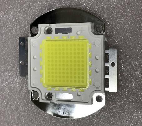 Светодиод матричный PREMIUM для прожектора 100W 5000К (45Х45 mil) Код.59651, фото 2