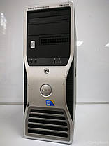 Сервер Dell WS T5500 Tower / Intel Xeon X5650 (6(12)ядер по 2.66 - 3.06GHz) / 48GB DDR3 / 2x3TB SAS HDD (RAID)/ БП 875W / nVidia Quadro FX 580 512Mb, фото 3