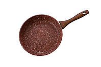 Сковорода антипригарная Maxmark - 260 мм, Granite Red