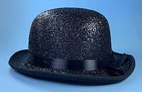 Шляпа котелок блестящий