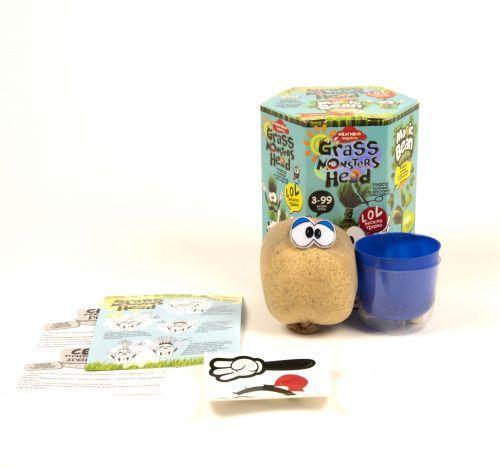 "Набор для проращивания ""Grass Monsters Head"" (укр) GMH-01-07U"