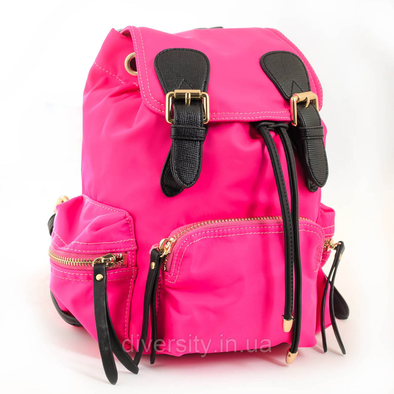 Сумка-рюкзак YES, ярко-розовый