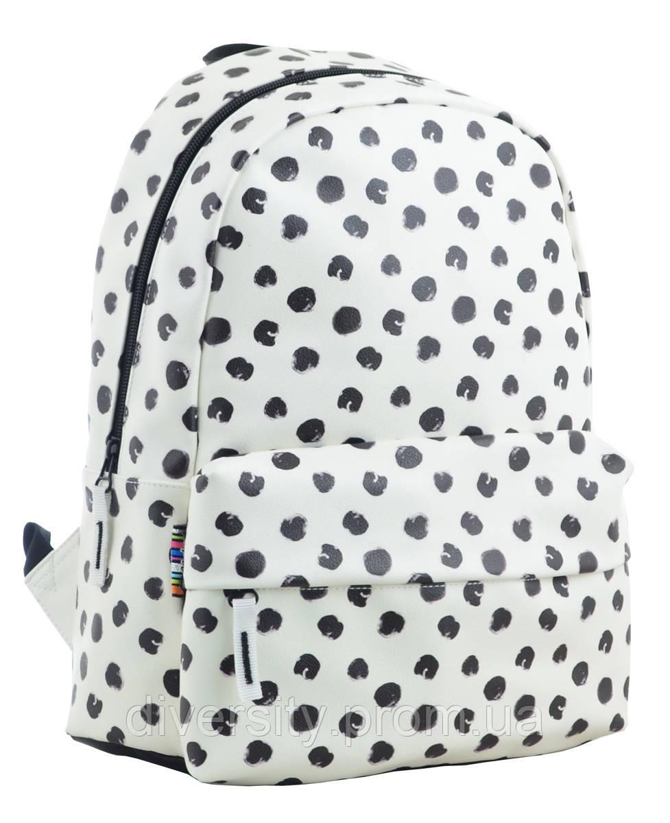 Молодежный рюкзак  YES ST-28 Black dots,  34*24*13.5