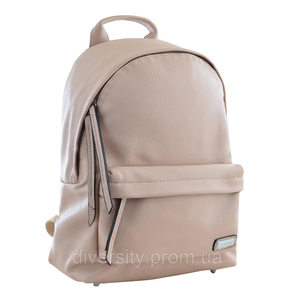 Молодежный рюкзак YES YW-21,  30*38*13,  бежевий