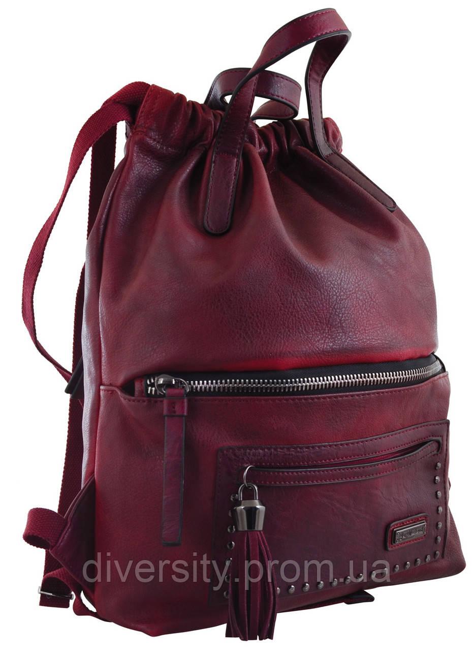 Женский рюкзак YES YW-11,  бордовий