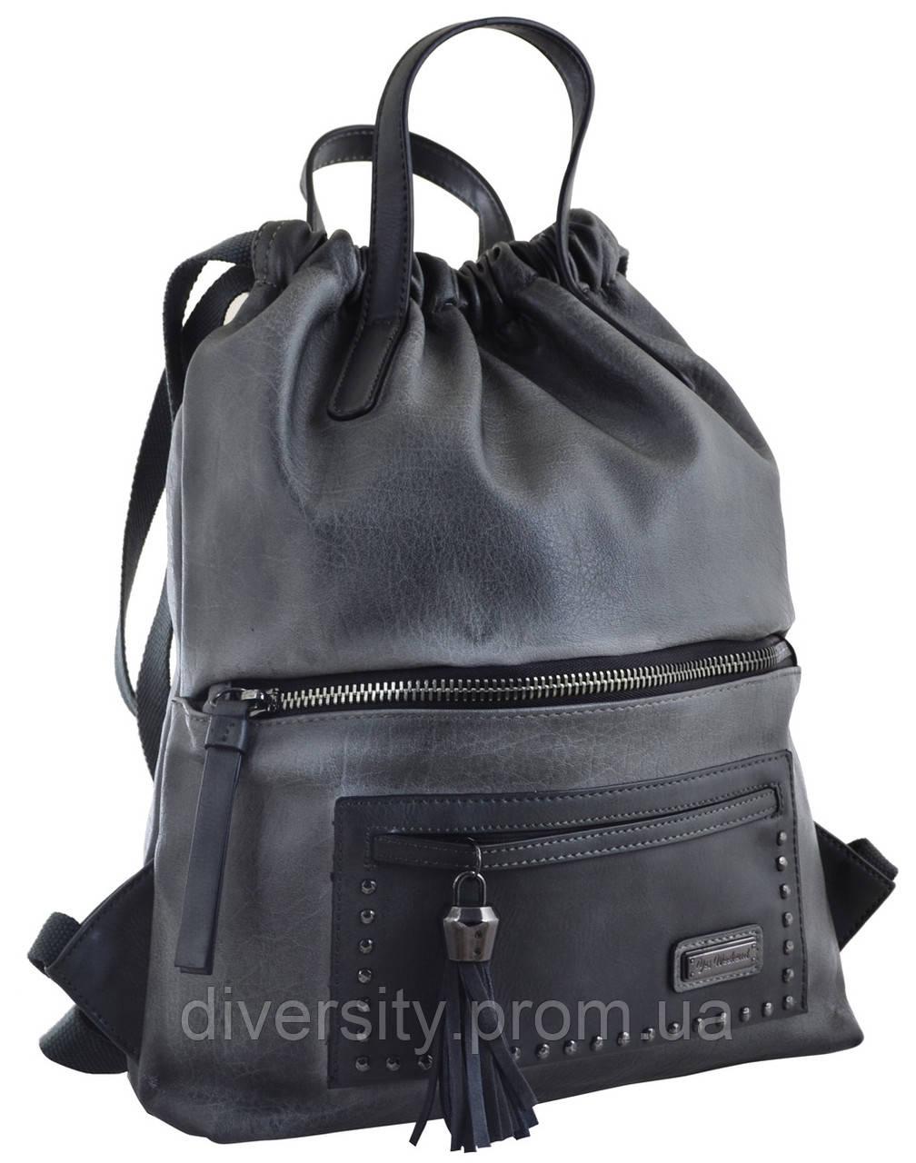Женский рюкзак YES YW-11,  серый