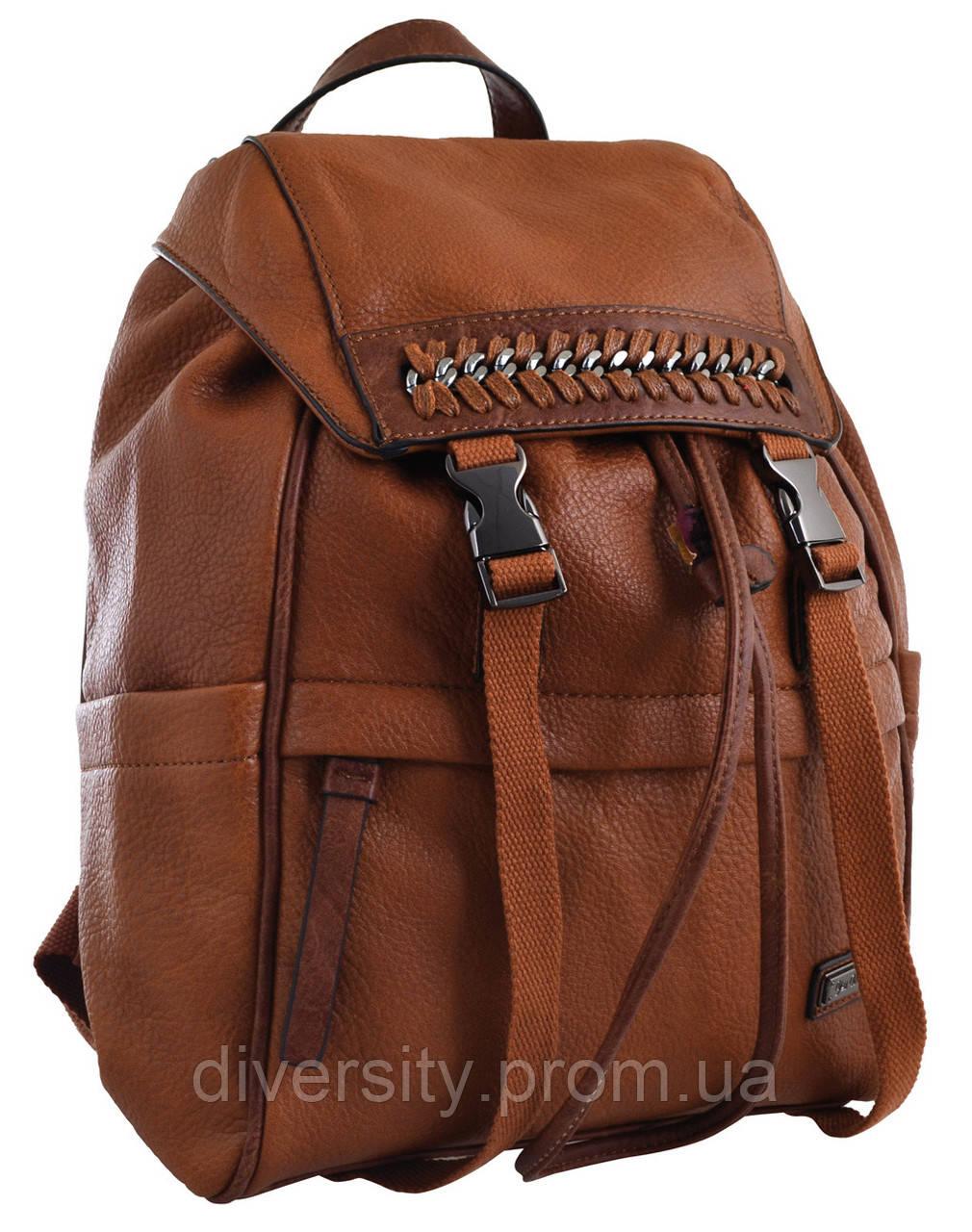 Женский рюкзак YES YW-12 коричневий                                                       ,