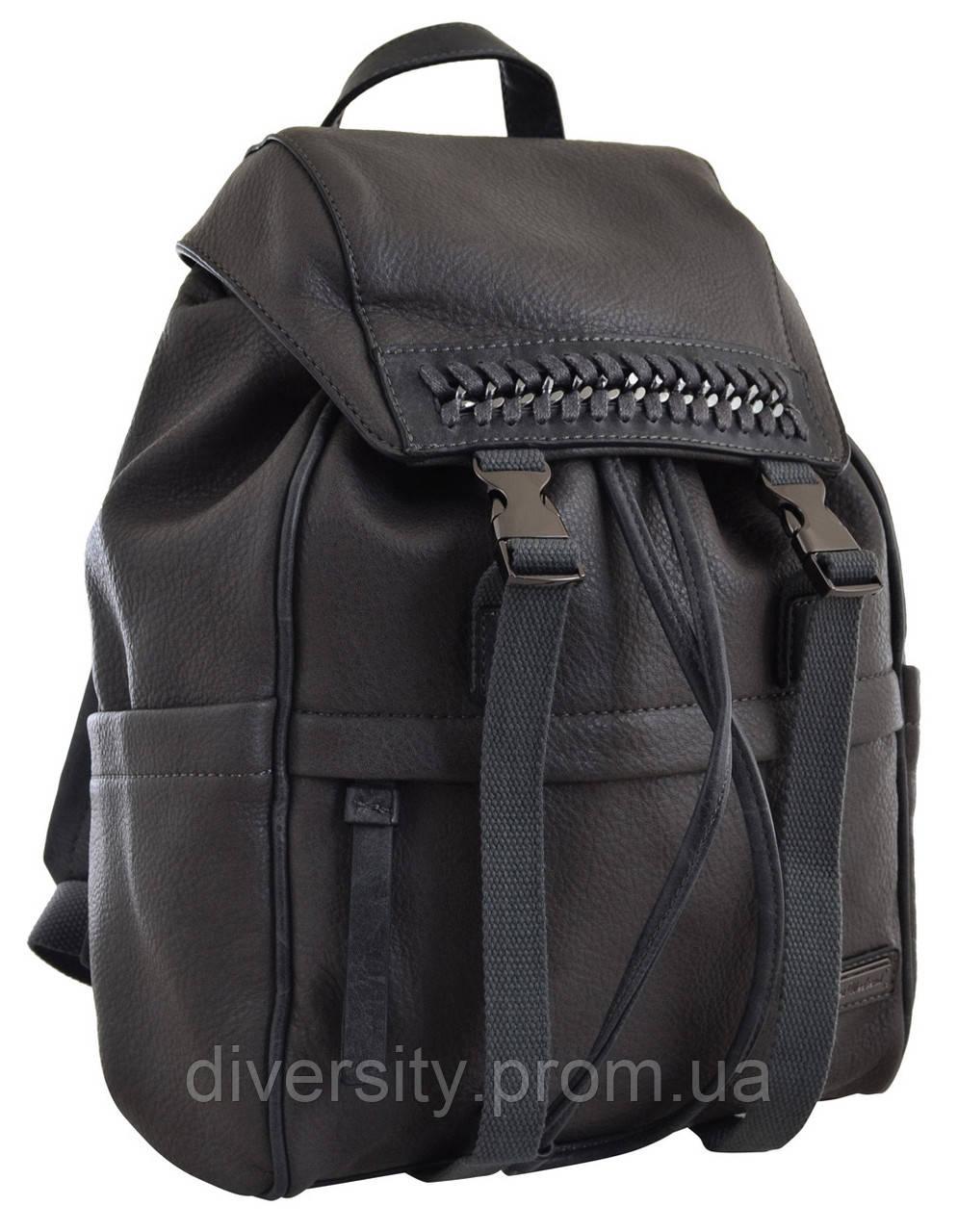 Женский рюкзак YES YW-12,  серый