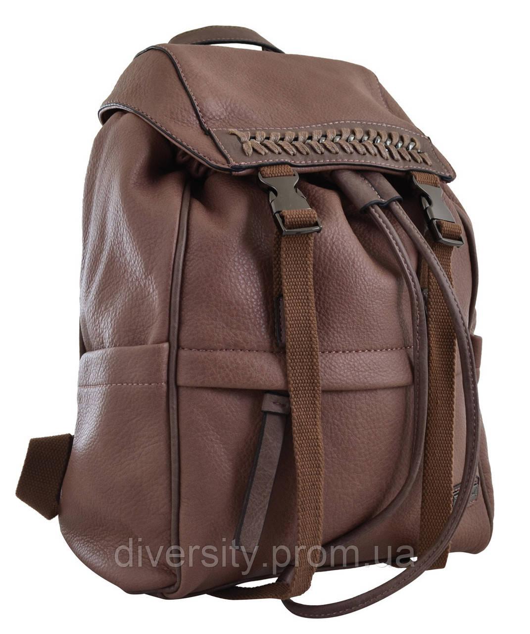 Женский рюкзак YES YW-12,  темно-розовый