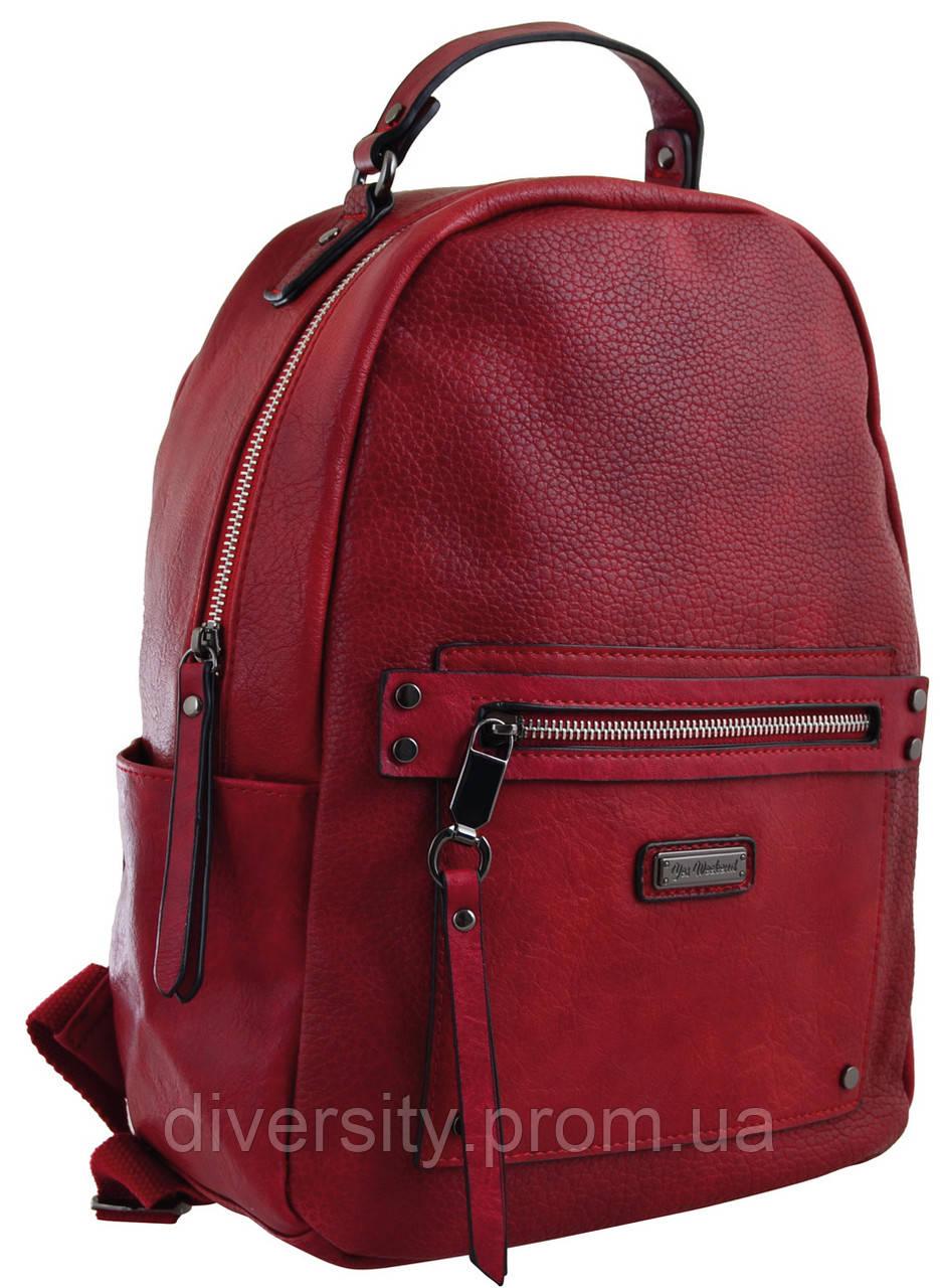 Женский рюкзак YES YW-14,  бордовий