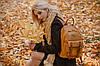 Женский рюкзак YES YW-18, горчичный, фото 6