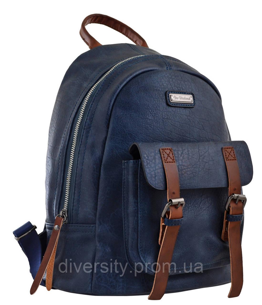 Женский рюкзак YES YW-18,  синий