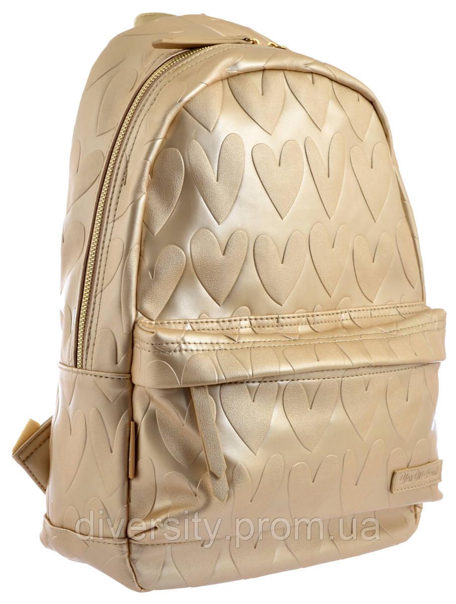 "Женский рюкзак YES YW-41 ""Golden Heart"""