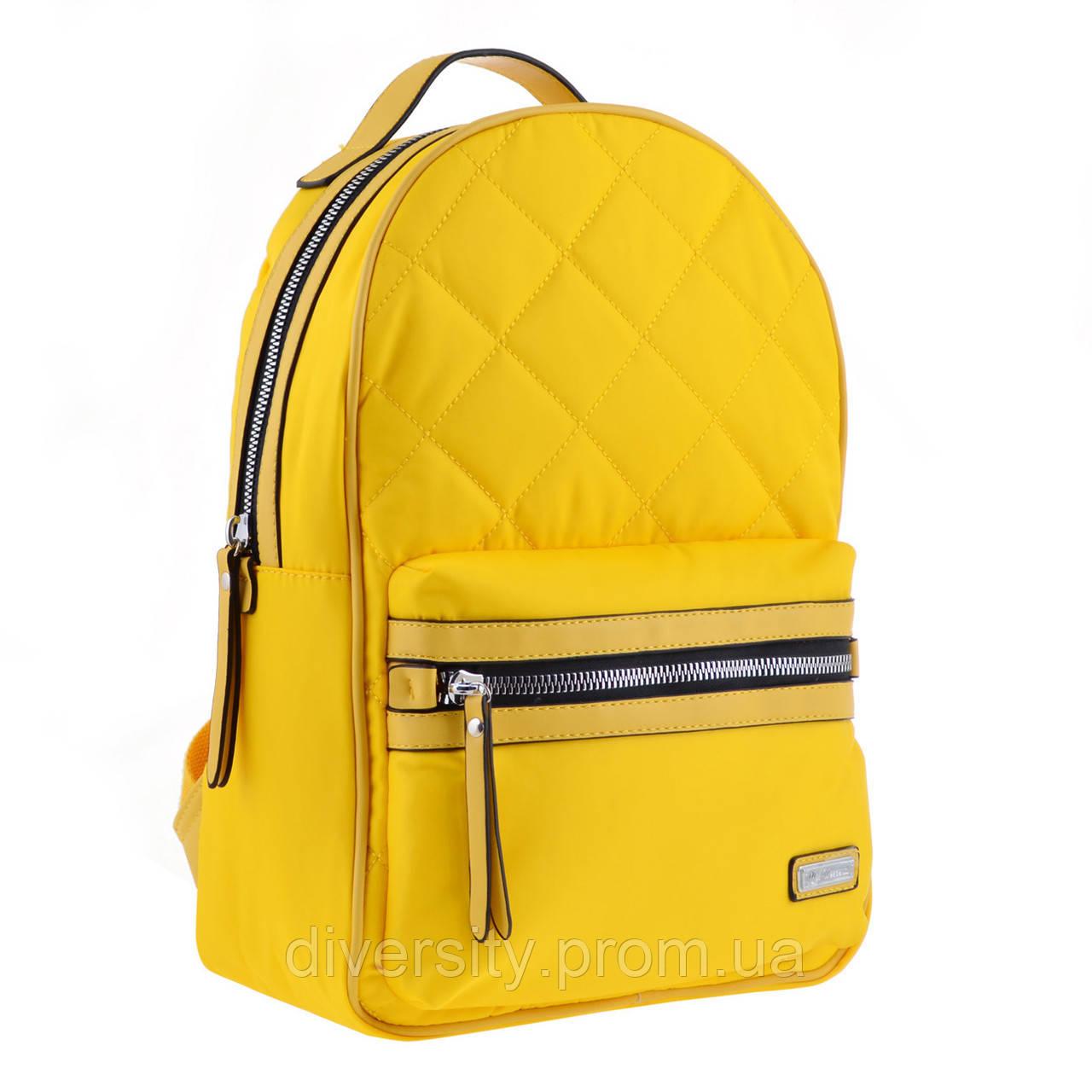 Женский рюкзак YES YW-45 «Tutti» желтый