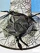Шляпа карнавальная с розой и пером Цвета разные, фото 6
