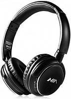 Беспроводные Bluetooth Наушники с MP3 плеером NIA-Q1 Черные (45561) SKU_45561