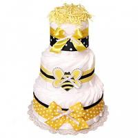 Торт из подгузников Bee Пчела