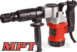MPT  Молоток отбойный PROFI 1100 Вт, 10 Дж, 3000 уд/мин, HEX 17, 2 стамески, металлический кейс, Арт.: MDB0810
