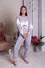 Женская пижама из велюр-софта  Умка Nicoletta  94066