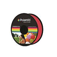 3D-FL-PL-8019-00 Катушка с нитью 1.75мм/1кг PLA Polaroid для 3D принтера, прозрачный красный, 3D-FL-PL-8019-00