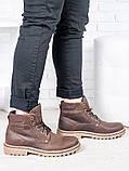 Коричневі чоловічі черевики 6813-28, фото 2