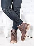Коричневі чоловічі черевики 6813-28, фото 3