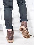 Коричневі чоловічі черевики 6813-28, фото 4
