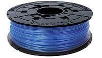 RFPLBXEU05J Катушка с нитью 1.75мм/0.6кг PLA XYZprinting Filament для da Vinci, прозрачный синий, RFPLBXEU05J