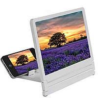 3D Подставка-увеличитель экрана для смартфона белый R189210