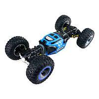 Машинка-перевертыш на р/у Crawler Car Double Side Blue большая 49х28х13 см (0000_1)