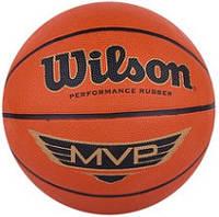 Баскетбольный мяч Wilson MVP BROWN SZ7 BBALL SS14