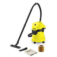 Хозяйственный пылесос для влажной и сухой уборки KARCHER WD 3 (1.629-801.0)