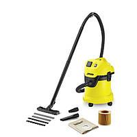 Хозяйственный пылесос для влажной и сухой уборки KARCHER WD 3 P (1.629-881.0)