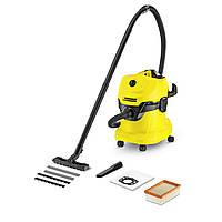 Хозяйственный пылесос для влажной и сухой уборки KARCHER WD 4 (1.348-111.0)