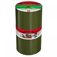 Лента битумно-полимерная 10 см х 3 м зеленая.