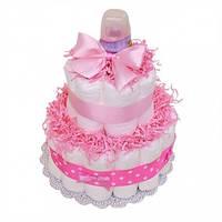 Торт из подгузников Little girl Малышка