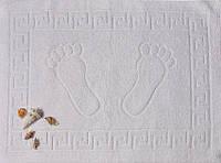 ТМ TAG Полотенце махровое для ног белое (Турция)