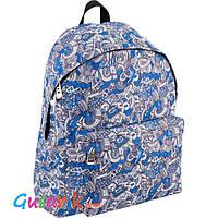 Рюкзак Кайт легкий голубой для девушки GO18-112M-10