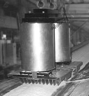 Подвесной электромагнитный сепаратор типа ПЭС-80 для сахара-песка, песка, глины, карбид кремниевой массы и др.