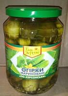 """Огурцы """"БОН"""" 8*680 гр    корнишоны"""