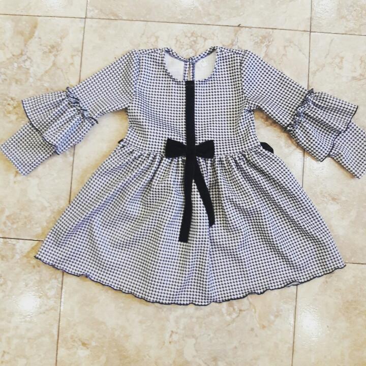 Платье для девочки в детский сад