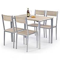Комплект стол + 4 стула Ralph Halmar 70х75x110 (V-CH-RALPH-ZESTAW) 031138
