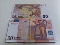 Купюра сувенирная 50 евро