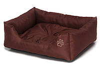 Лежак Noble Pet Richard 55 х 45 x 15 см Коричневый (R2107/55)