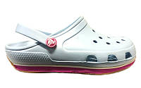Детские сабо Crocs Crocband Retro Kids 33 Белый (233002-J2)